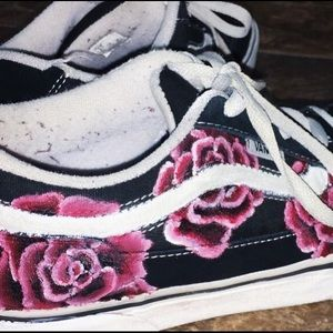 Shoes - Customized painted shoes